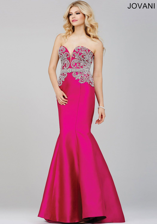 Fuchsia Pink Mermaid Prom Dress 29158 | fancy | Pinterest ...