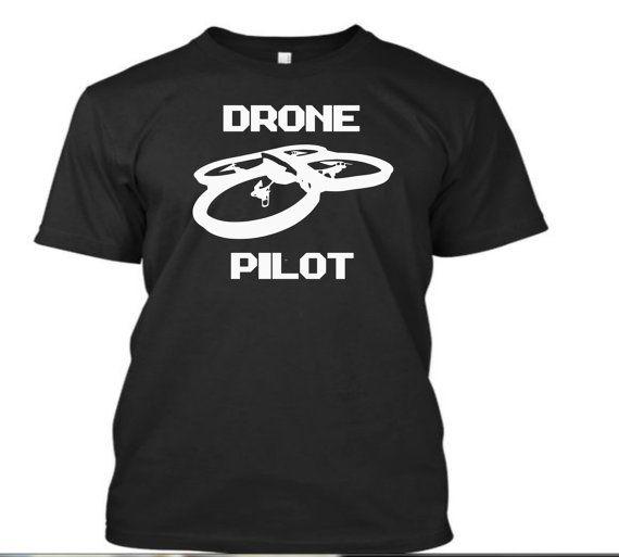 Pro Drone Logo Design: Drone Pilot Tshirt RC Drone Shirt