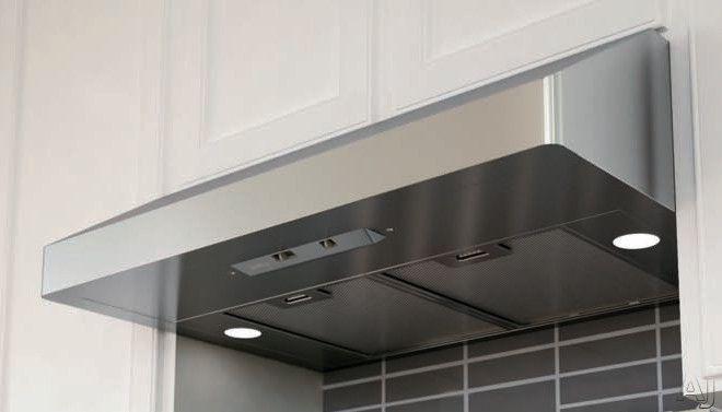 Zephyr Ak71as Under Cabinet Canopy Range Hood With 400 Cfm Internal Blower 3 Speed Levels Halogen Lighting And M Range Hood Under Cabinet Installing Cabinets
