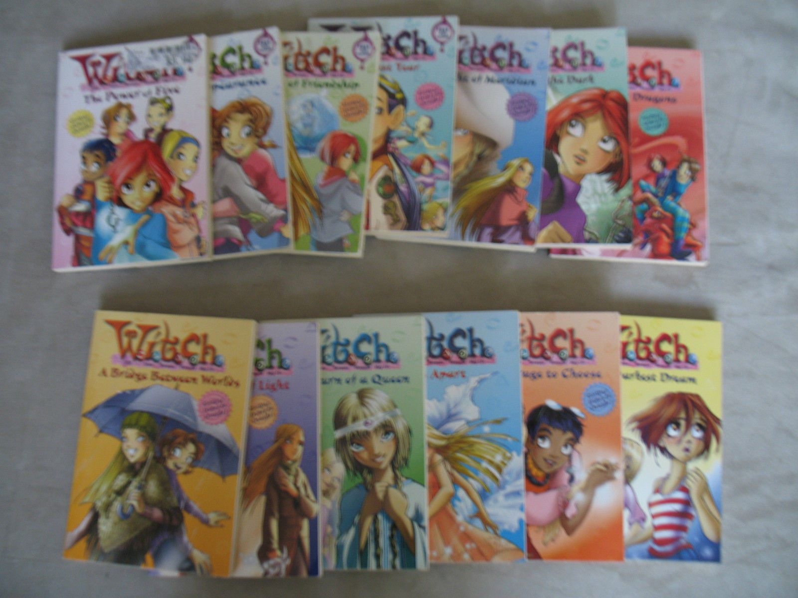 http://www.ebay.com/itm/W-I-T-C-H-series-lot-of-13-books-/261508736503?pt=US_Childrens_Books $22 Shipping $14