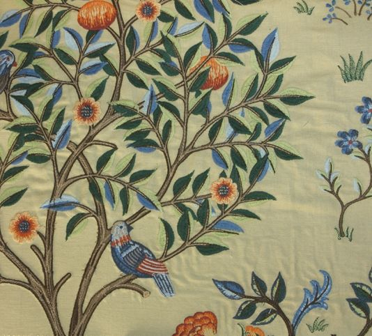 Kelmscott Tree Fabric William morris wallpaper, Bird