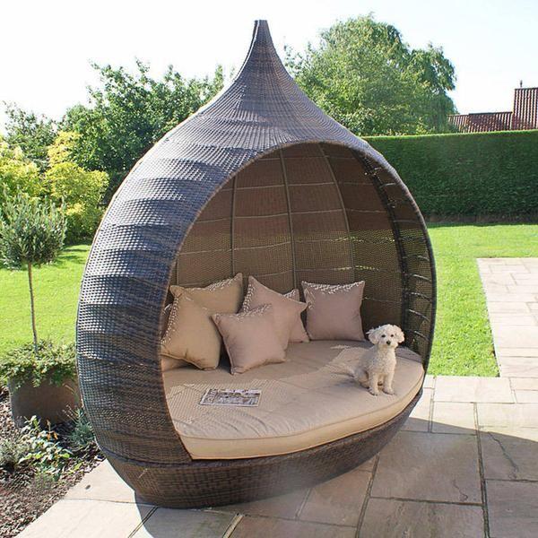 Montego Daybed Diy Outdoor Furniture Rattan Garden