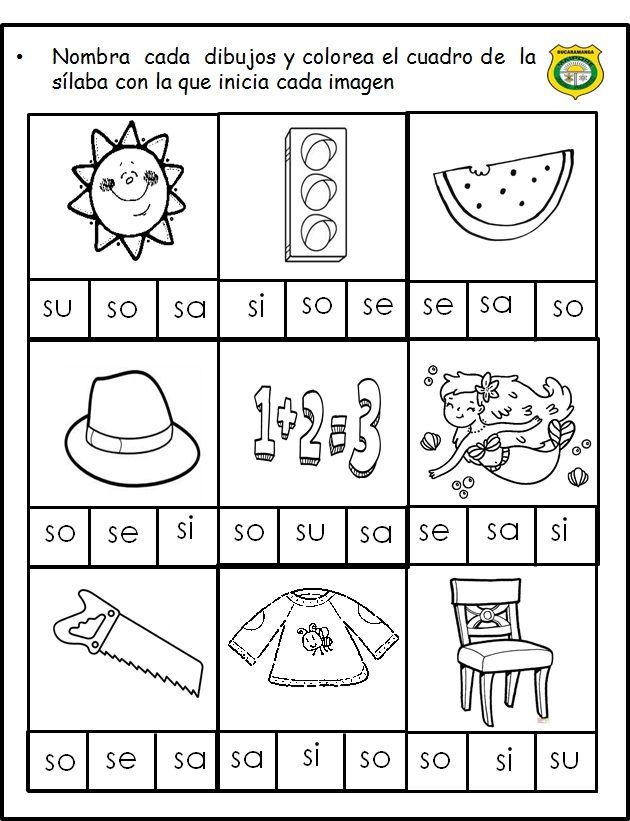 Pin De Marcela Hernández En Actividades De Fonemas Lecto Escritura Preescolar Escritura Preescolar Actividades De Escritura