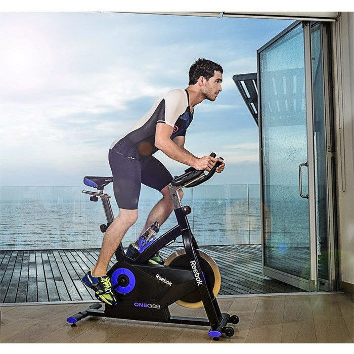 Reebok Gsb Spin Bike With 19 Console Programs