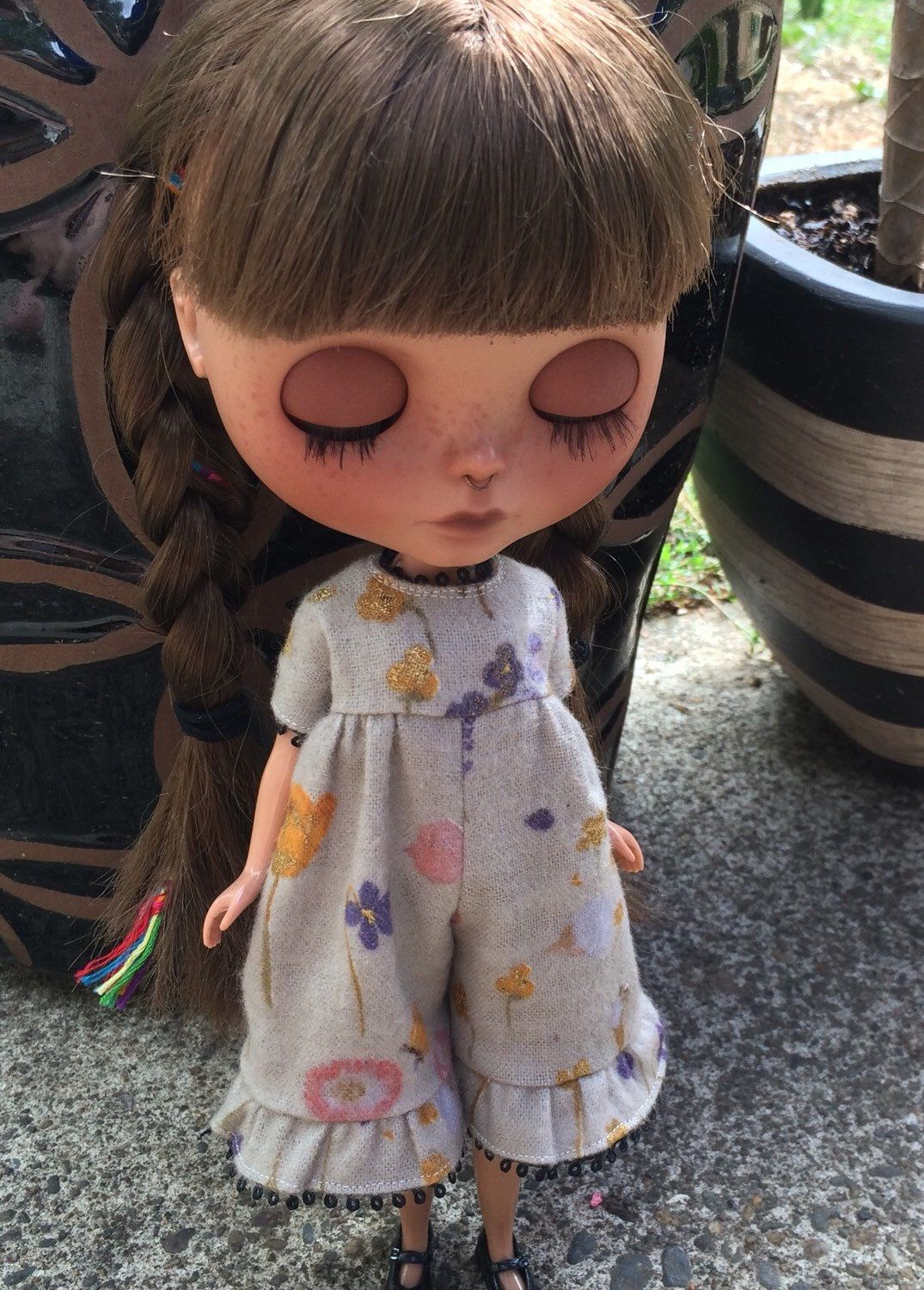 A personal favorite from my Etsy shop https://www.etsy.com/listing/246287326/blythe-romper-perrinials