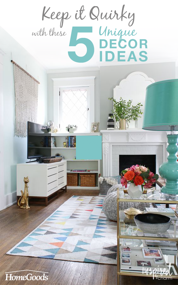 Keep It Quirky With These 5 Unique Décor Ideas