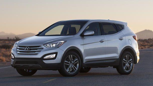 2013 Hyundai Santa Fe Stretches Into Two Models Sheds Weight Along The Way Hyundai Santa Fe Sport New Hyundai Cars Santa Fe Sport