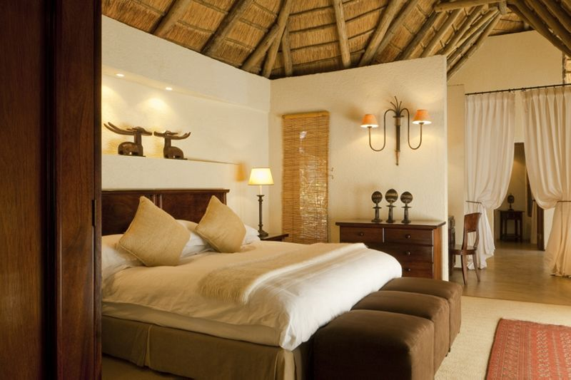 South Africa Safari Andbeyond Lodge Bedroom Bedroom Interior Lodge