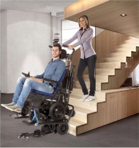 Powered Stair Climber Is Made For Home Use