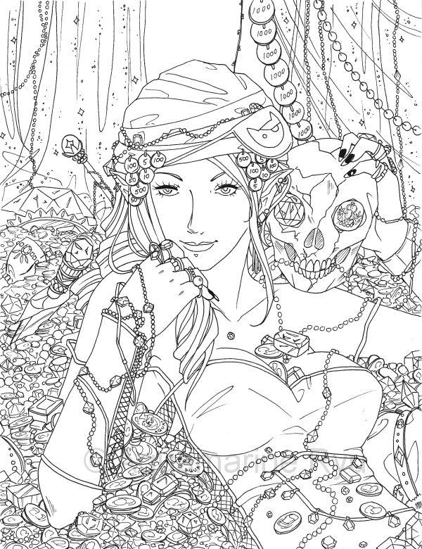 Pirate Treasure by Glittercandy.deviantart.com on @deviantART ...