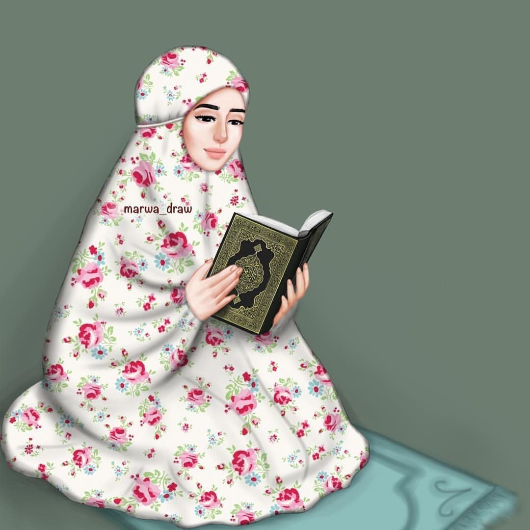 Read Quran Girls Draw Hijab Pinterest Quran Islam And Muslim