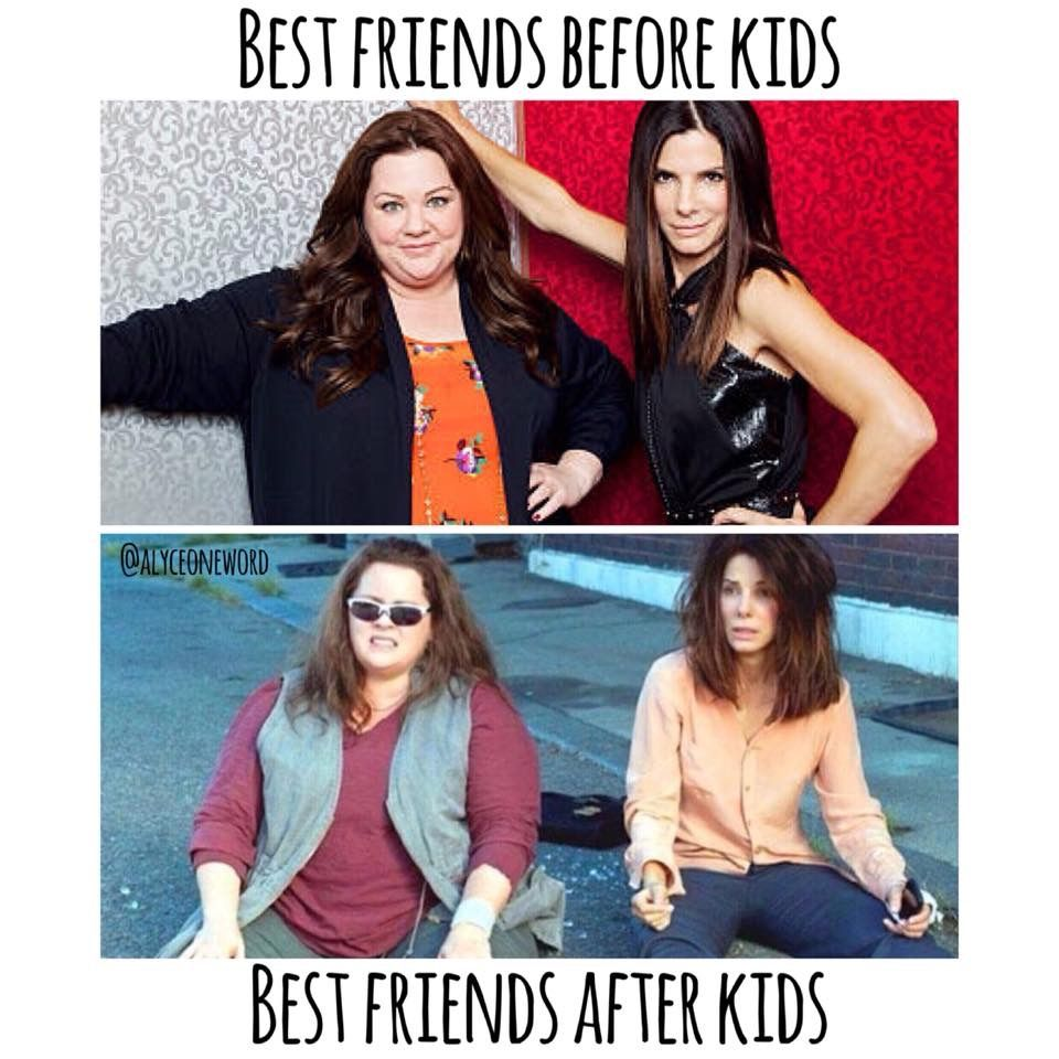Best Friends Before And After Kids Mom Memes Funny Mom Memes Mom Humor