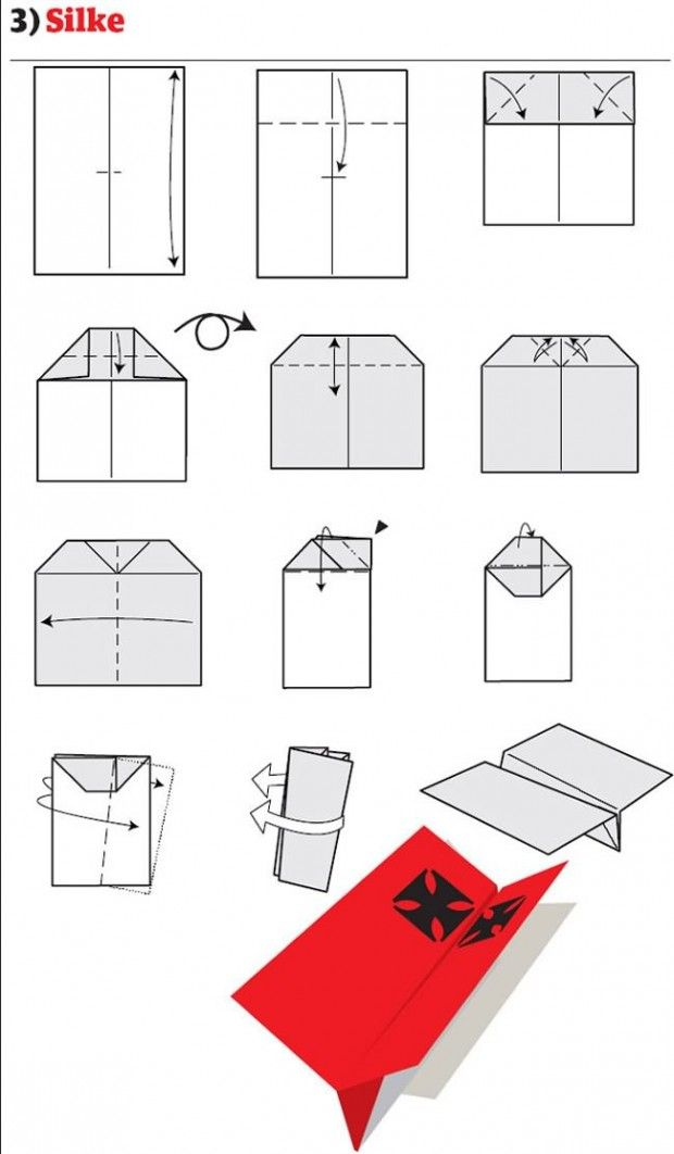 World's Best Paper Airplane - Simple and Sturdy : 10 Steps ... | 1062x620