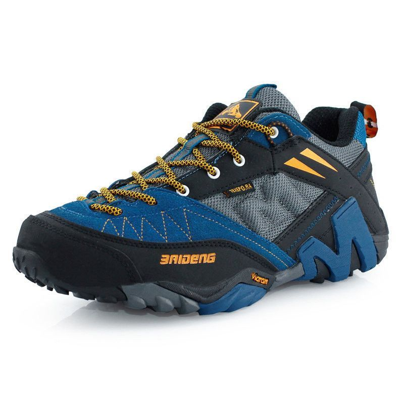 Waterproof Men's Genuine Leather Hiking Shoes New 2016 Sport Shoes Men  Trail Outdoor Walking Shoes Climbing
