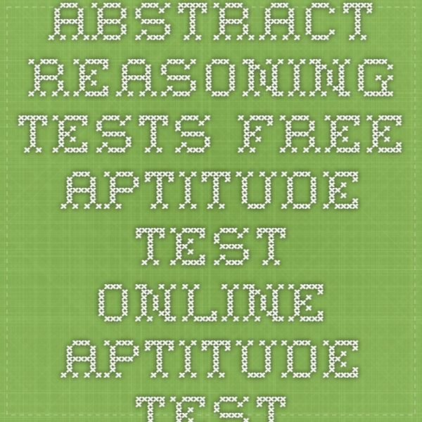 Abstract Reasoning Tests - Free Aptitude Test Online - Aptitude-Test - aptitude test free