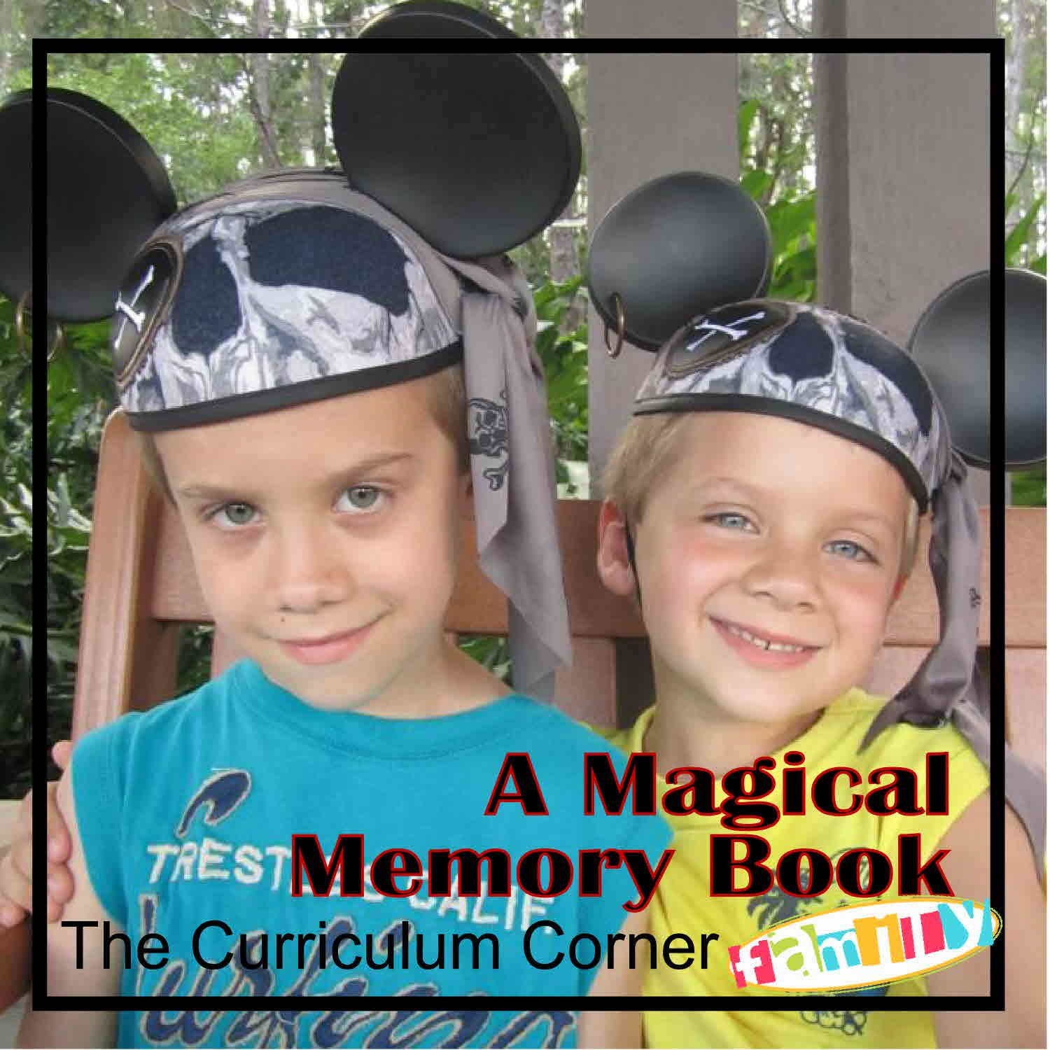 How to scrapbook disney vacation - A Magical Vacation Memory Book To Scrapbook The Memories From The Kiddo S Perspective