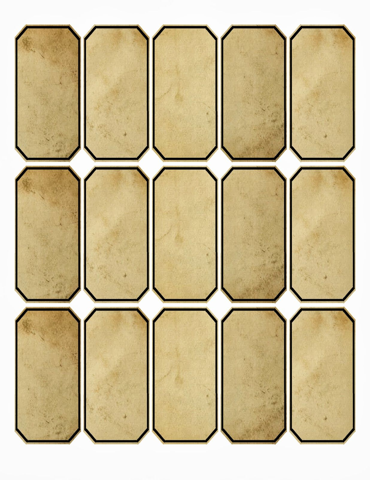 Free 15 Apothecary Labels Or Tags Labels Printables Free Templates Vintage Labels Printables Vintage Labels Printables Free