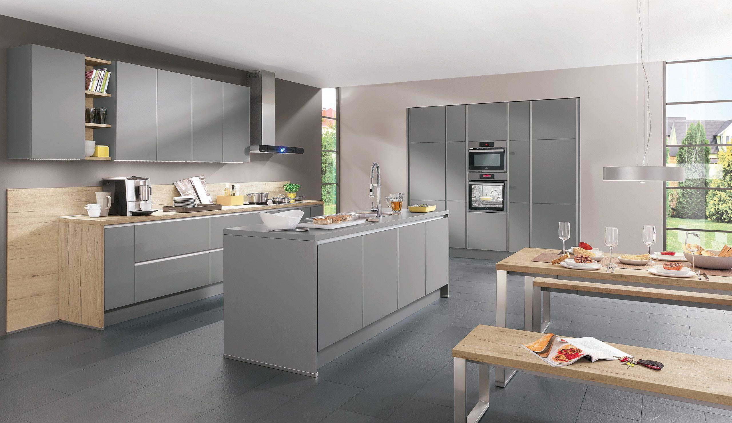 Küche Anthrazit Quelle Kochinsel https://www.kuechen-quelle.de ...