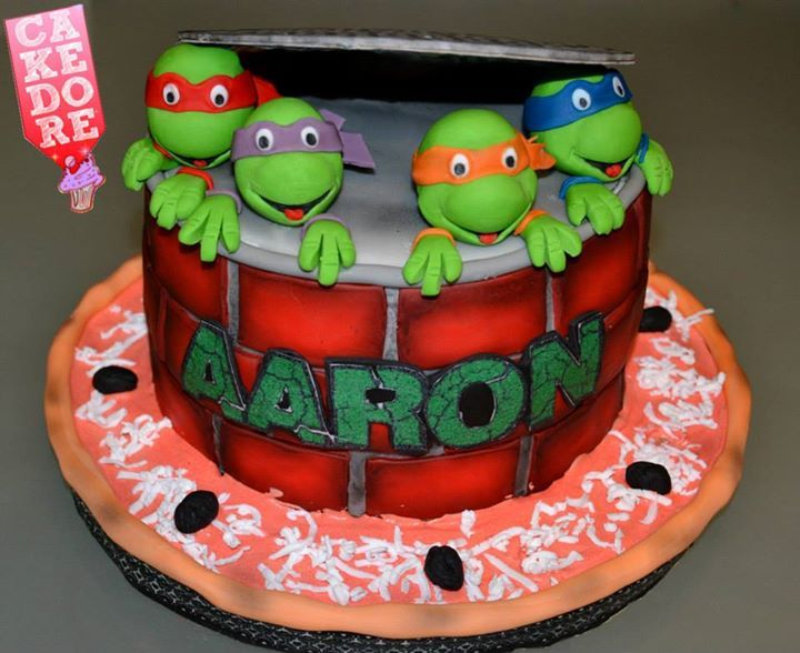 Gateau Tortues Ninja Ninja Turtle Cake