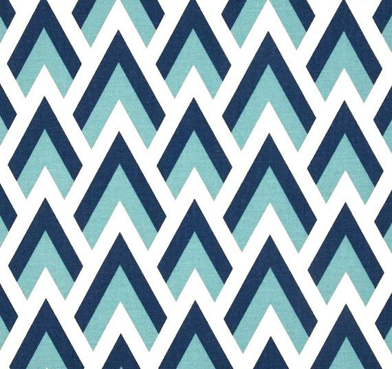 Attirant Navy Blues U0026 White Modern Chevron Home Decor By CottonCircle