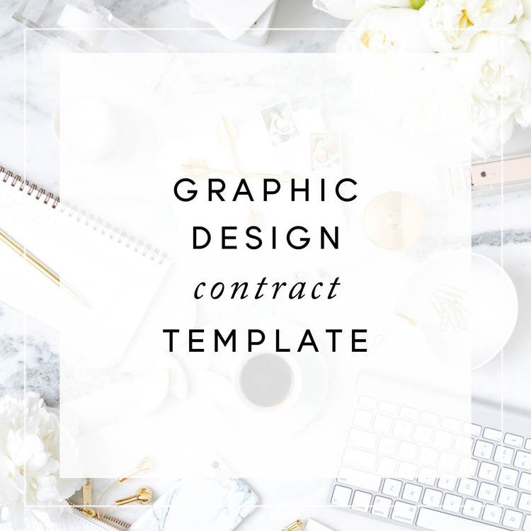 Graphic Design Contract Template Christina Scalerajpg freelance - contract template