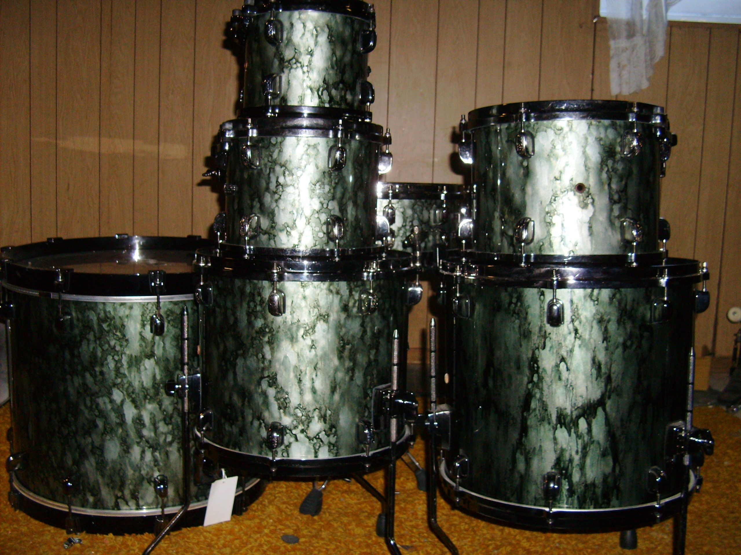 Tama 7 Piece Drum Kit Collectors Edition For Sale On Ebay