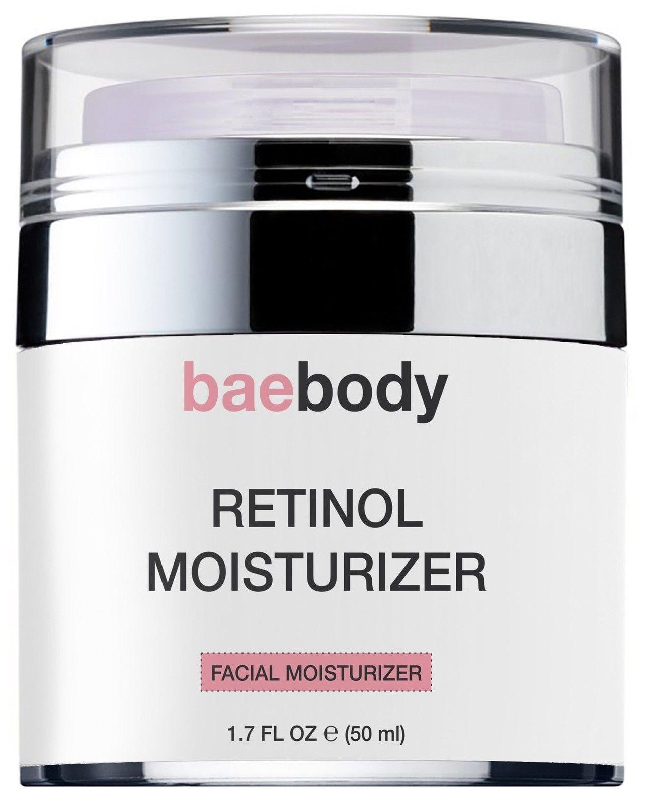 58ac6f409cf4 Baebody Retinol Moisturizer Cream for Face and Eye Area - With 2.5 ...