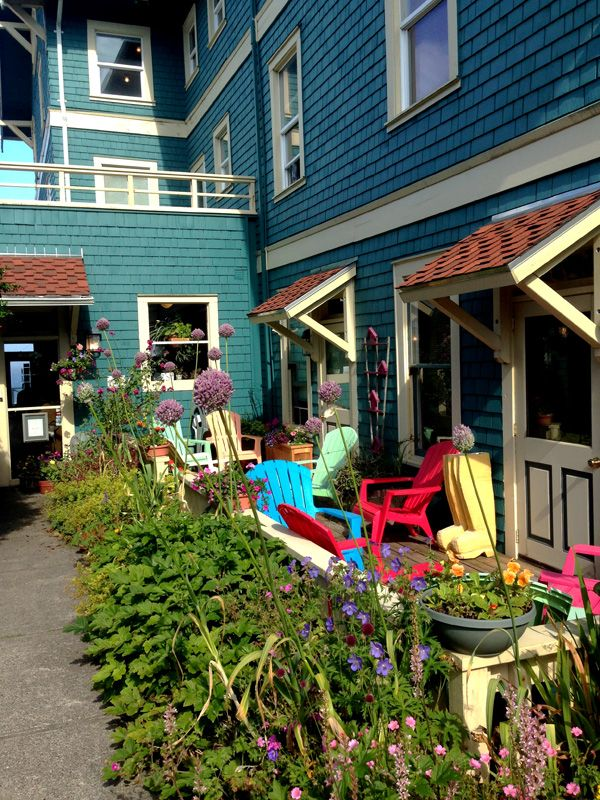 Sylvia Beach Hotel In Newport Oregon Book Lover S As All The Rooms Are