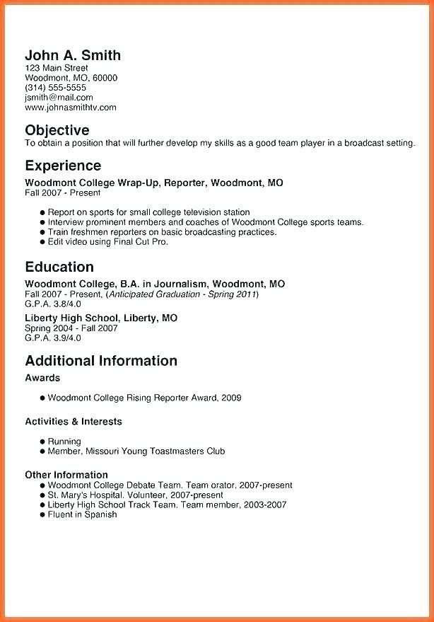 Resume Template For Teenagers Skinalluremedspa Student Resume Template Unique Resume Template Resume Templates