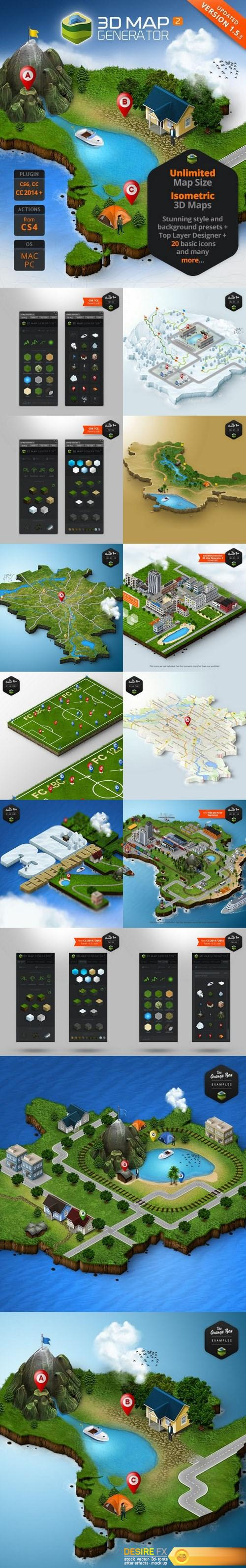 Graphicriver 3d map generator 2 isometric 7667950 httpwww graphicriver 3d map generator 2 isometric 7667950 httpdesirefx gumiabroncs Gallery