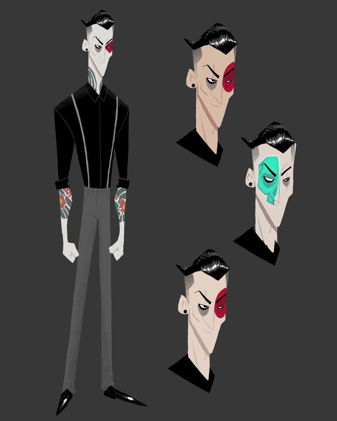 Some Early Designs I Did For Obake The Main Villain In Big Hero Six The Series Some Of My Ideas Made It Through To Final Props To Big Hero 6