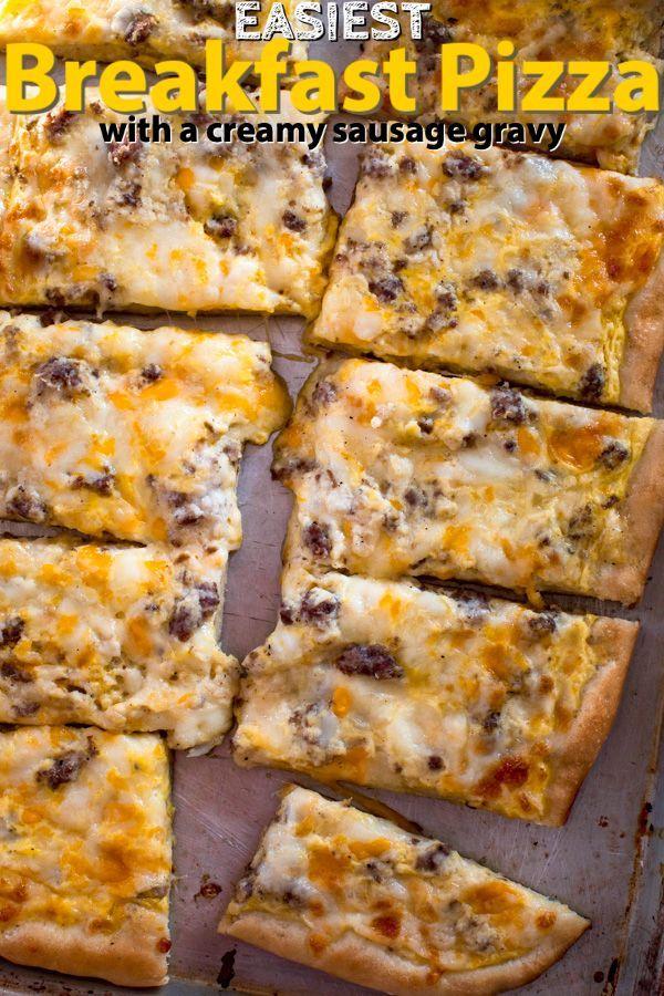 Frühstück Pizza Rezept  – breakfast
