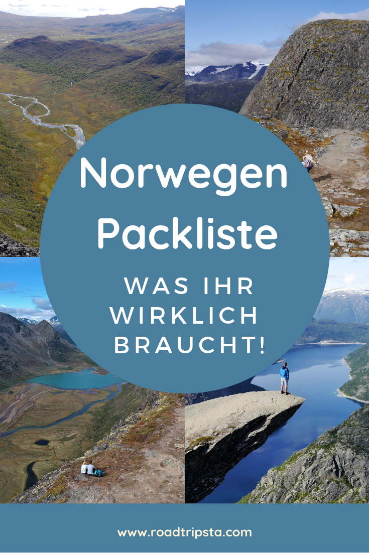 Photo of Packing list for your Norway road trip – what you really need
