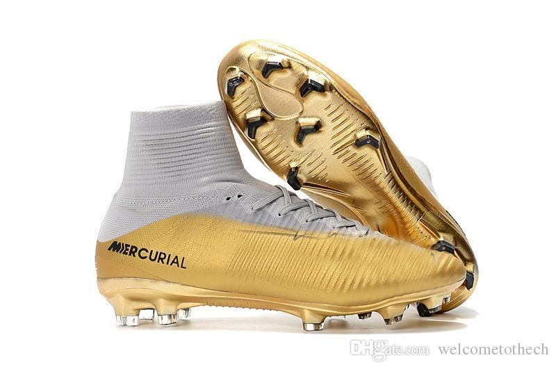 6808510b72d8 Best Quality Original Mercurial X Ea Sports Superfly Fg Cr7 Top Ankle  Soccer Shoes Magista Obra 2 Soccer Cleats Cristiano Ronaldo Football Boots  At Cheap ...