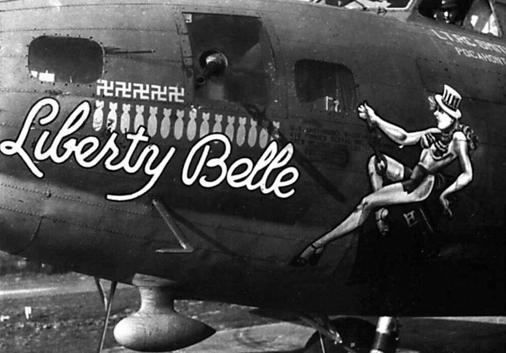 """Boeing B-17 Flying Fortress bomber, """"Liberty Belle"""""""