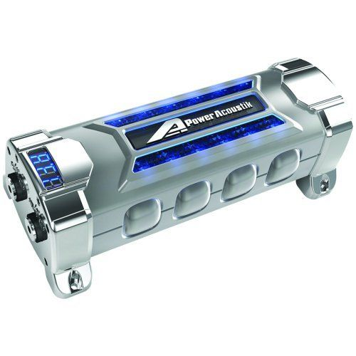 Power Acoustik Pcx 5f 5 Farad Digital Display Car Audio Capacitor