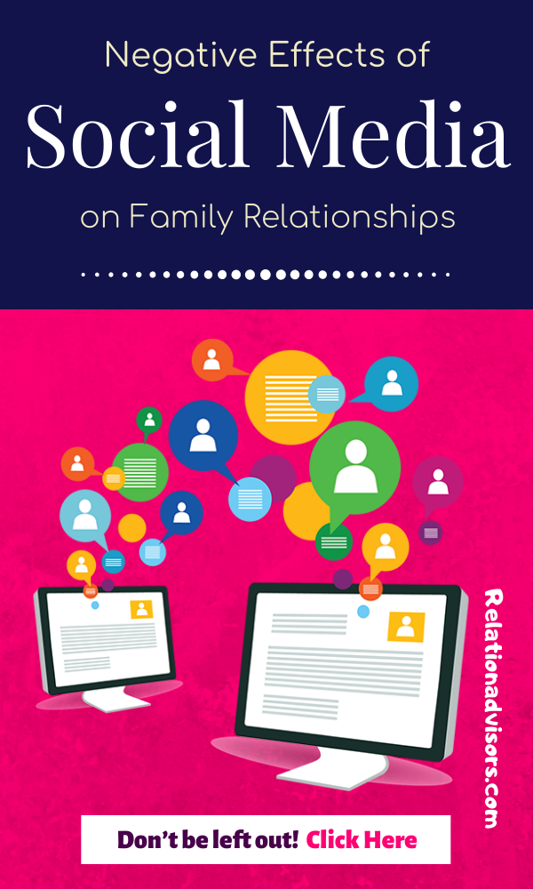 Negative Effects Of Social Media On Family Relationships Social Media Relationships Social Media Negative Social Media Impact
