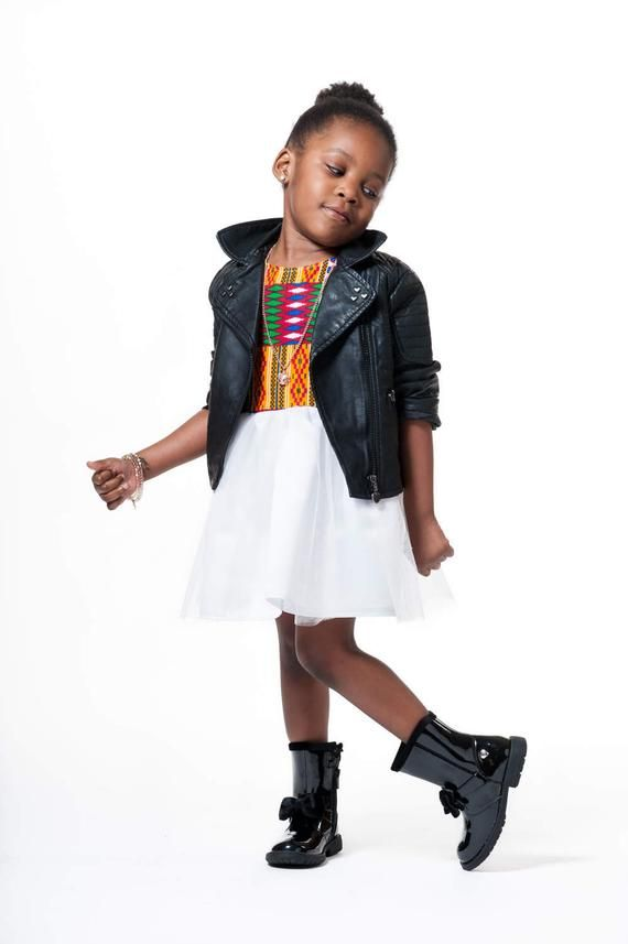 African print children's dress, african print dress for girls Tanaka #africanprintdresses