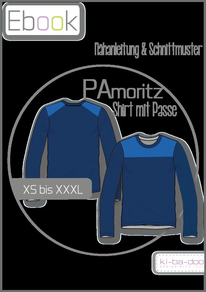 Shirt mit Passe PAmoritz # Gr XS - XXXL # Schnittmuster und ...