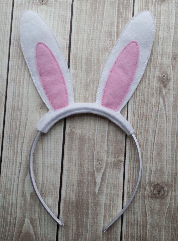 Bunny Ear Headband, Easter Headband, Bunny Headband, Girls Headband ...