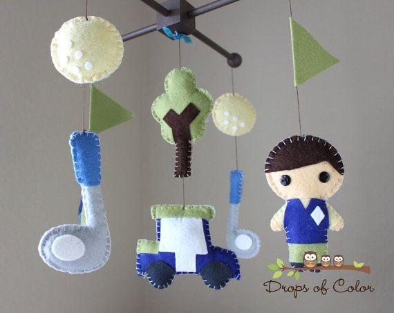 Baby Golf Mobile Nursery Ideas Pinterest Orange vests