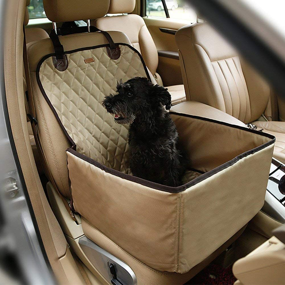 CHAMPURE Luxury Single Pet Car Seat Cover With Anchors 2 In 1 Multi Functional And Waterproof Nice Of Your Presence To Drop By View The Picture