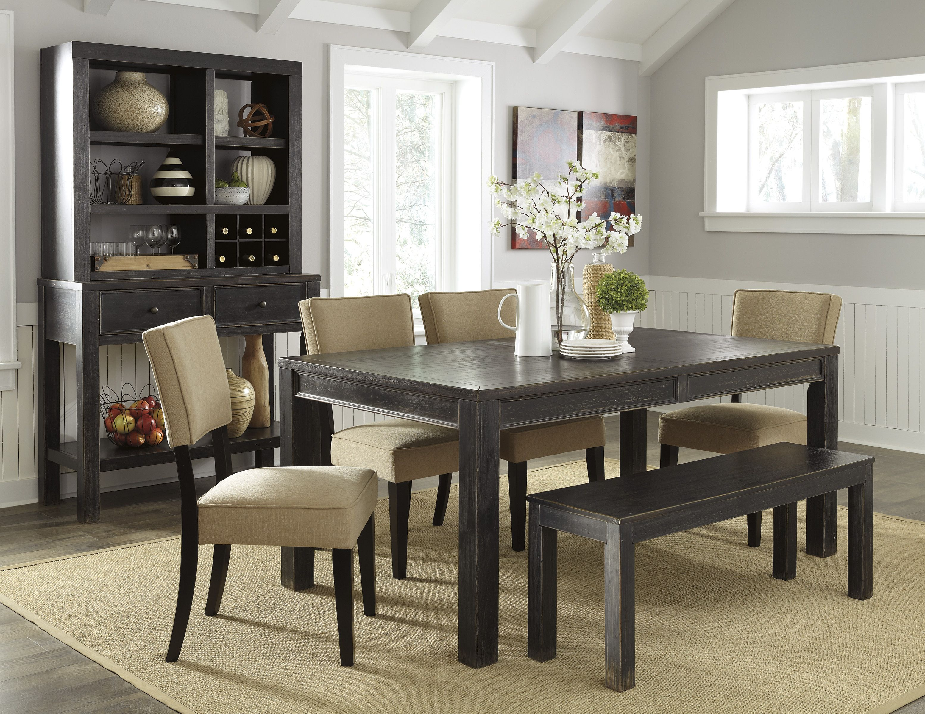 Kitchen Table With Benches Set 17 Best Images About Dining Room Tables On Pinterest Casual