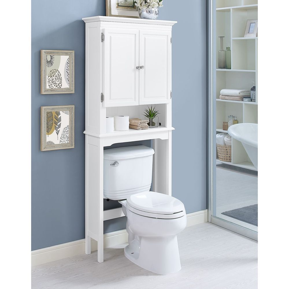 Wakefield Over The Toilet Bathroom Storage Organizer Space Saver