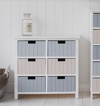 Exceptional Beach Free Standing Bathroom Cabinet Furniture With 6 Drawers. Ideas And  Designs In Furniture For