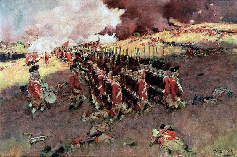 Pyle, Howard, (1853-1911), Battle of Bunker Hill, 1897