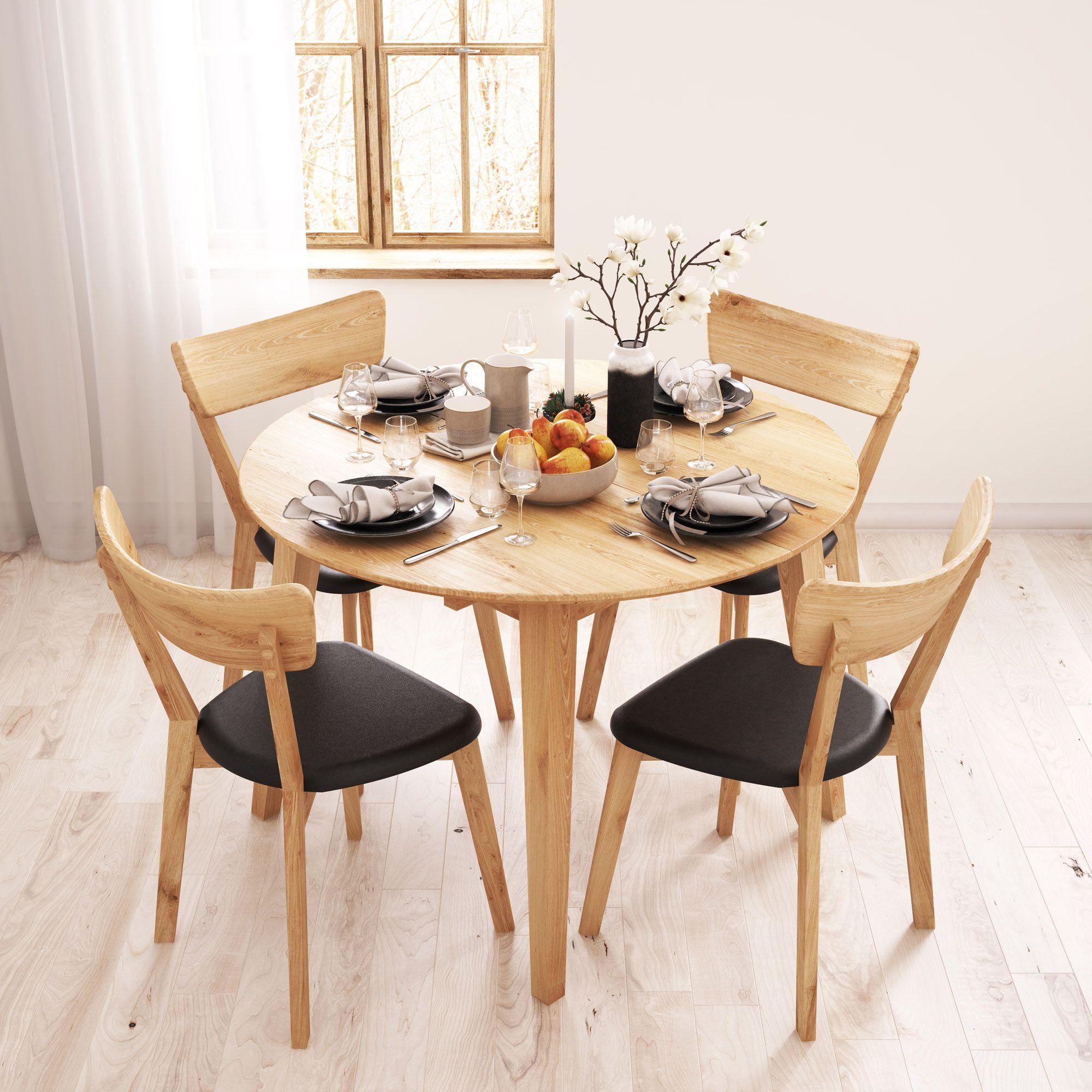 Stół dębowy Woodica. Piękny i solidny, a dzięki opcji
