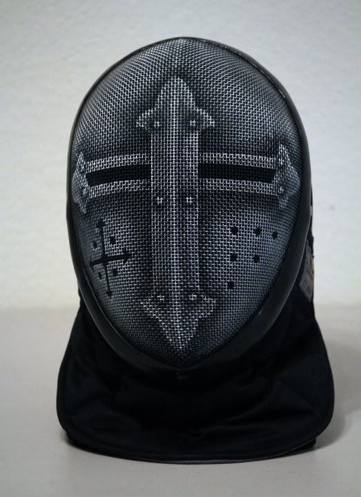 A Lot Of People Paint Their Fencing Masks But I Woulda