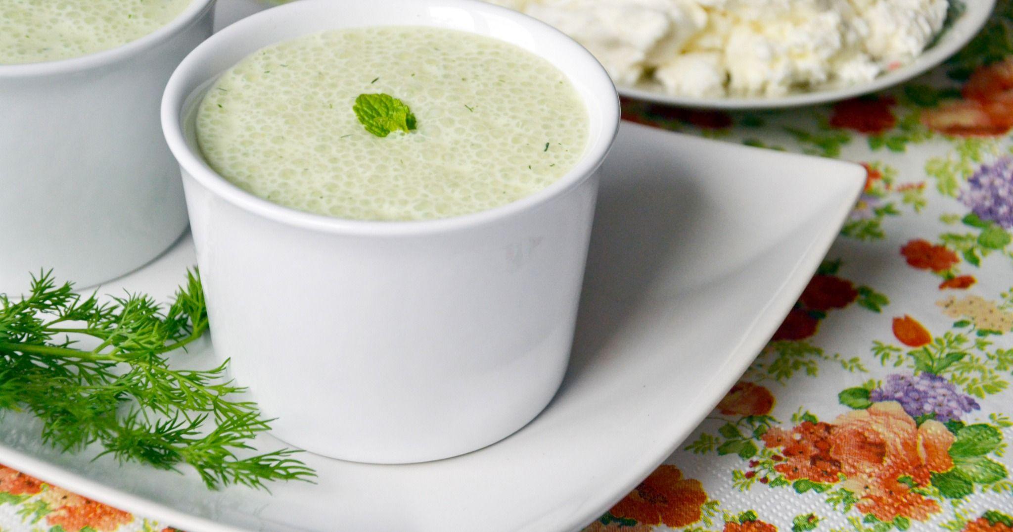 Рецепт диета кефир с огурцами