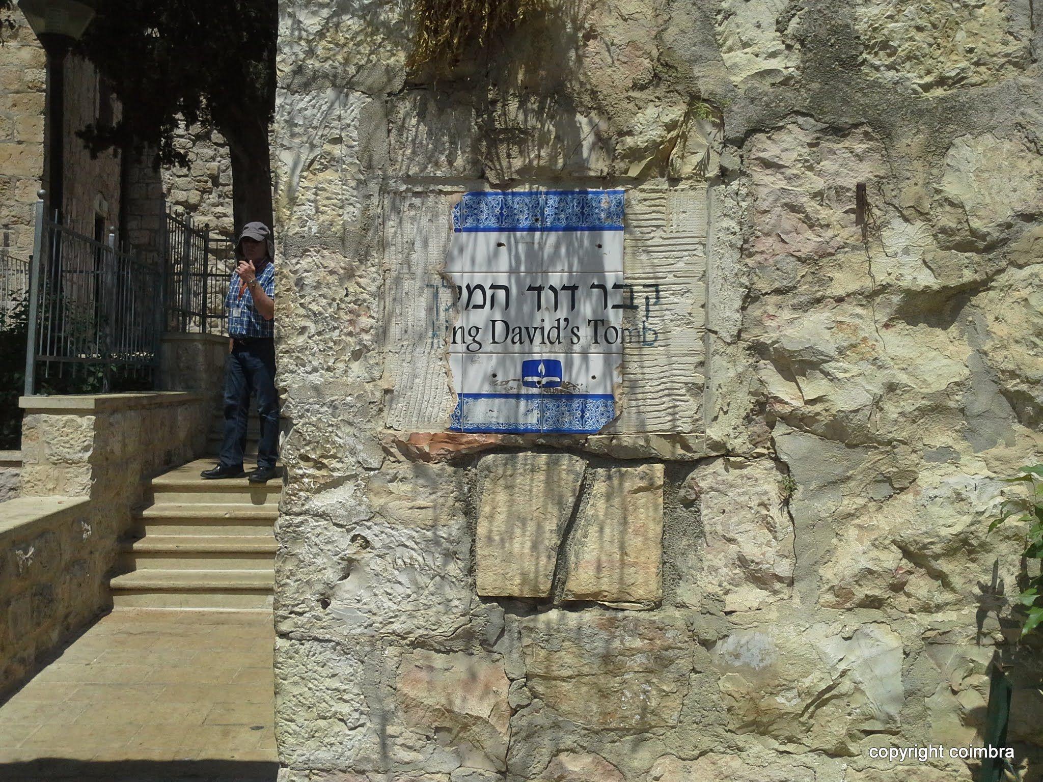 Israel, Jerusalem. Quever David Ha Melech. King David tomb.